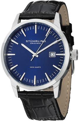 Stuhrling Original Men's Ascot 42 Watch Set