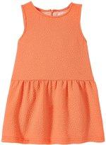 Appaman Perry Dropwaist Dress (Toddler/Kid) - Fusion Coral - 5