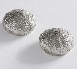 Pottery Barn Sea Urchin Salt & Pepper Shakers