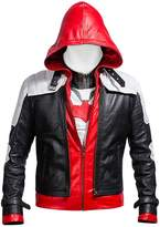 Laverapelle Batman Arkham Knight Black Hood Men Vest and Jacket 2 in 1