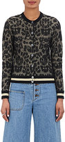 Marc Jacobs Women's Leopard-Pattern Wool Cardigan