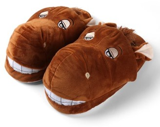 Sumaclife Kid's Plush Cartoon Animal Cozy House Slippers for Indoors (Horse)