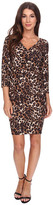 NYDJ Monique Cheetah Print Dress