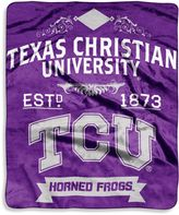 Bed Bath & Beyond Texas Christian University Raschel Throw Blanket