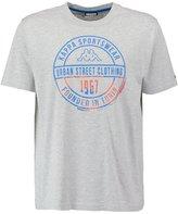 Kappa Zahit Print Tshirt Grey Melange
