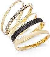 Thalia Sodi Gold-Tone 5-Pc. Bangle Bracelet Set, Only at Macy's