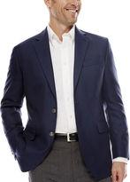 STAFFORD Stafford Executive Blue Hopsack Blazer - Classic