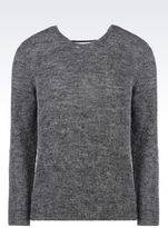 Emporio Armani Sweater In Wool Blend