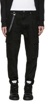 Helmut Lang Black Twill Cargo Pants