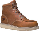 "Timberland Men's Barstow Wedge Boot 6"" Moc Alloy Safety Toe"