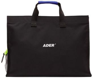 Ader Error Black Logo Tote