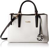 Calvin Klein Saffiano Satchel Bag