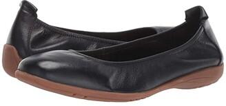 Josef Seibel Fenja 01 (Black) Women's Dress Flat Shoes