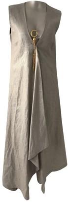 Gianfranco Ferre Beige Dress for Women Vintage