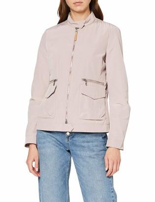 Geox Ladies Coat Woman Jacket Rose (Dark Antique Rose) 40
