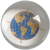 Engraved Globe Paperweight