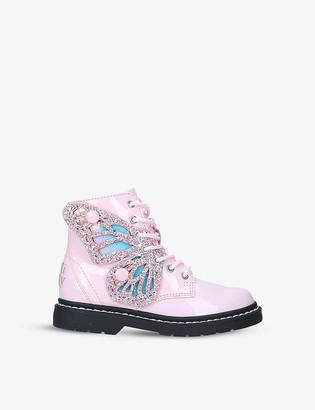 Lelli Kelly Kids Fairy Wings leather boots 4-9 years