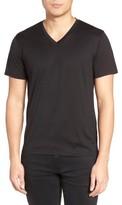 Theory Men's Silk & Cotton V-Neck T-Shirt