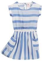 Jenna & Jessie Striped Dress (Little Girls)