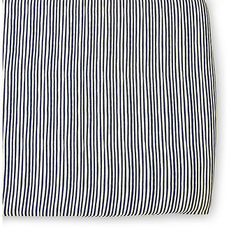 Pehr Stripes Away Crib Sheet - Ink ink/white
