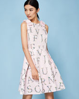 Ted Baker Unity Floral skater dress