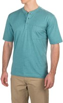 Wolverine Knox Henley Tech Shirt - Short Sleeve (For Men)