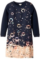 Paul Smith Long Sleeves Dress w/ Bubbles Print Girl's Dress
