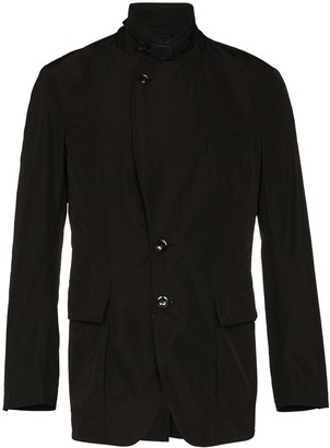 Tom Ford Funnel-Neck Blazer