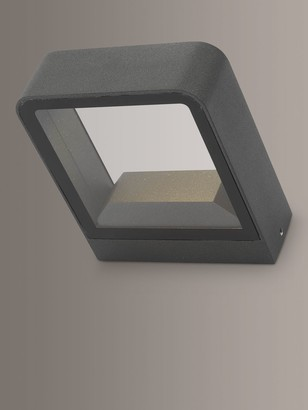 Dar Malone LED Outdoor Wall Light, Anthracite