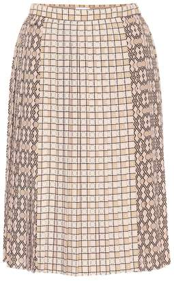 Burberry Pleated midi skirt