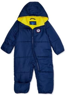 iXtreme Baby Boy Puffer Snowsuit Pram Bunting