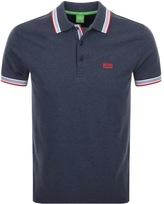 BOSS GREEN HUGO Paddy Polo T Shirt Navy