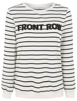 George Front Row Striped Sweatshirt