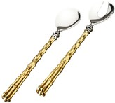 L'OBJET Two-Piece 24K Gold-Plated Salad Server Set