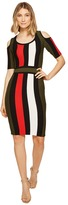 XOXO Multicolor Stripe Stitch Dress