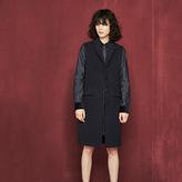 Maje Long sleeveless coat