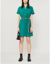 Claudie Pierlot Roussee woven midi dress