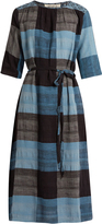 Ace&Jig Olympia plaid-cotton dress