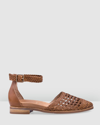 Bared Footwear - Women's Brown Sandals - Dunnock Flat Sandals - Women's - Size One Size, 35 at The Iconic