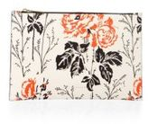 Victoria Beckham Small Simple Floral Pouch