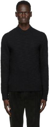 Dolce & Gabbana Black Wool Sweater