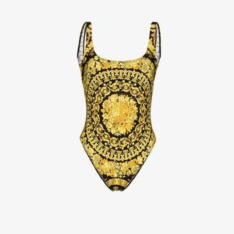 Versace Baroque print swimsuit