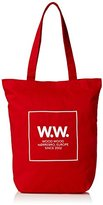 Wood Wood Unisex-Adult Desi Totebag High Risk Red Canvas and Beach Tote Bag Highrired