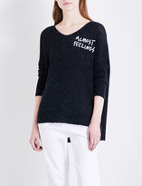 Wildfox Couture Almost Feelings knitted jumper