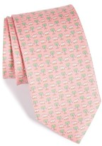 Salvatore Ferragamo Men's Dinosaur Print Silk Tie
