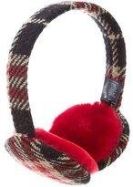 Burberry Wool House Check Earmuffs