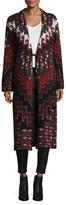 Mara Hoffman Rug Long Sleeve Coat