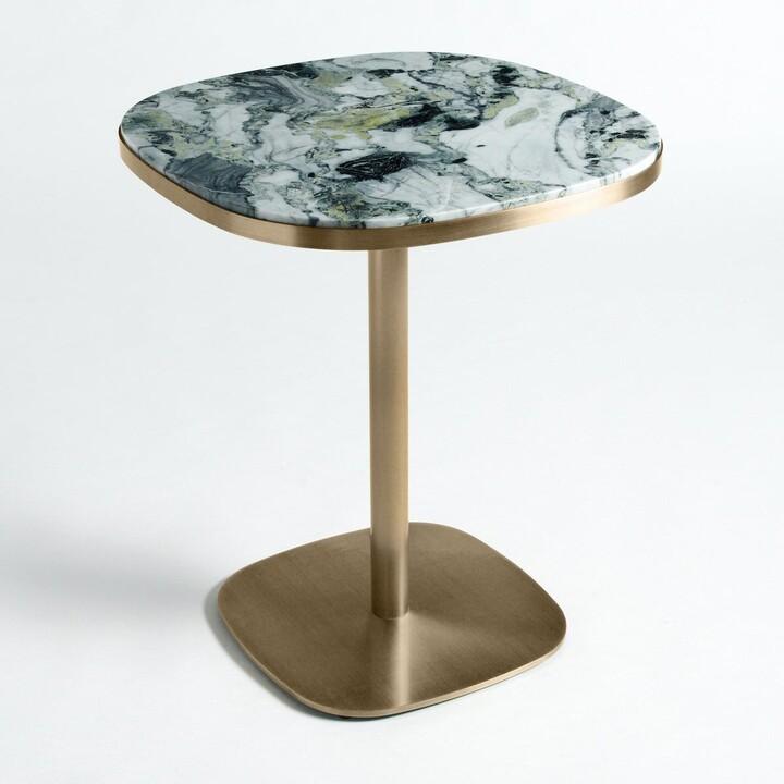 Am.pm. Bistro table marble 60 cm, Lixfeld