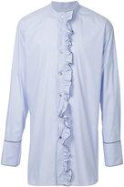 Wooyoungmi long sleeved ruffled shirt