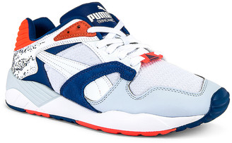 Puma Select Trinomic XS-850 in Puma White & Galaxy Blue | FWRD